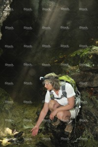 stock-photo-20871664-discovering-a-cave