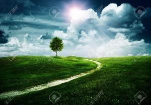 14889675-voie-droite-vers-l-avenir-heureux-abstrait-naturelles-banque-dimages