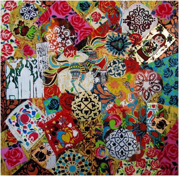 Top Exposition de l'artiste plasticien Walid Lemkecher au salon de  NF74