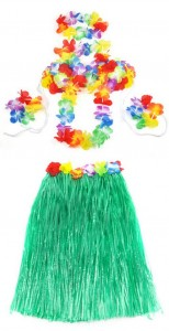 NEW-Halloween-wedding-Party-Costumes-60cm-font-b-Hawaiian-b-font-Hula-Grass-Skirt-Flower-Dress