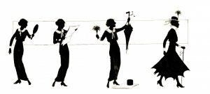 woman-vintage-silhouette